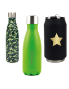 CANS AND THERMAL BOTTLES
